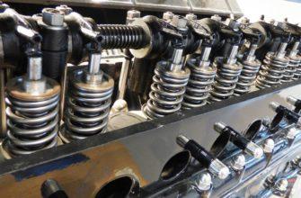 Замена клапанов двигателя