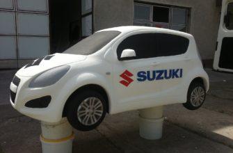 Стандартные и ремонтные размеры коленвала Suzuki